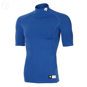 [데상트] S5321ZPC03 BLUE 반팔언더셔츠