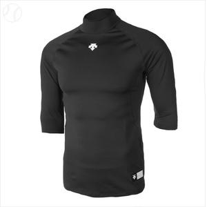 [데상트] S5121ZPC03 BLK 데상트 7부 언더셔츠